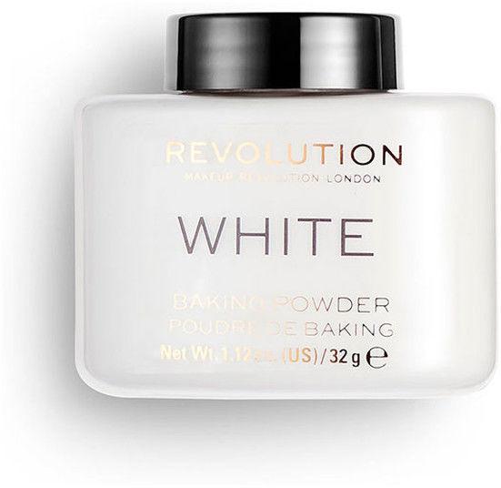 Makeup Revolution Baking Powder puder sypki odcień White 32 g