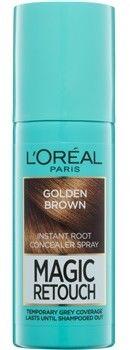 LOréal Paris Magic Retouch błyskawiczny retusz włosów w sprayu odcień Golden Brown 75 ml
