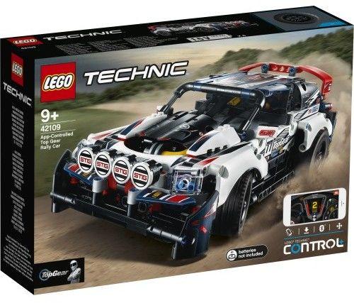 LEGO Technic - Auto wyścigowe Top Gear sterowane przez aplikację 42109