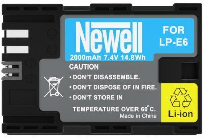 Akumulator NEWELL 2000 mAh do Canon LP-E6