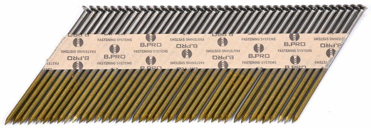 Gwoździe taśmowe do gwoździarki 75mm drut 2,8mm kąt 34 3000szt 72012 - ZYSKAJ RABAT 30 ZŁ