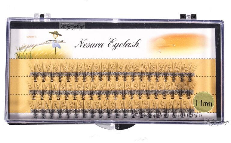 Nestura Eyelash - Kępki sztucznych rzęs - Premium - 11 mm