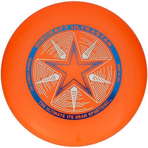 """Discraft""""USSO"""" 802001-007 175 g""""Discraft Ultrastar"""" Frisbee (pomarańczowy)"""