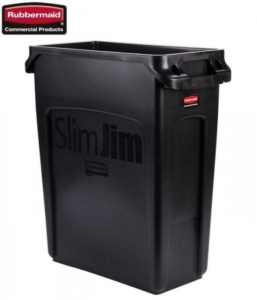 Kosz Slim Jim  With Venting 60L Black
