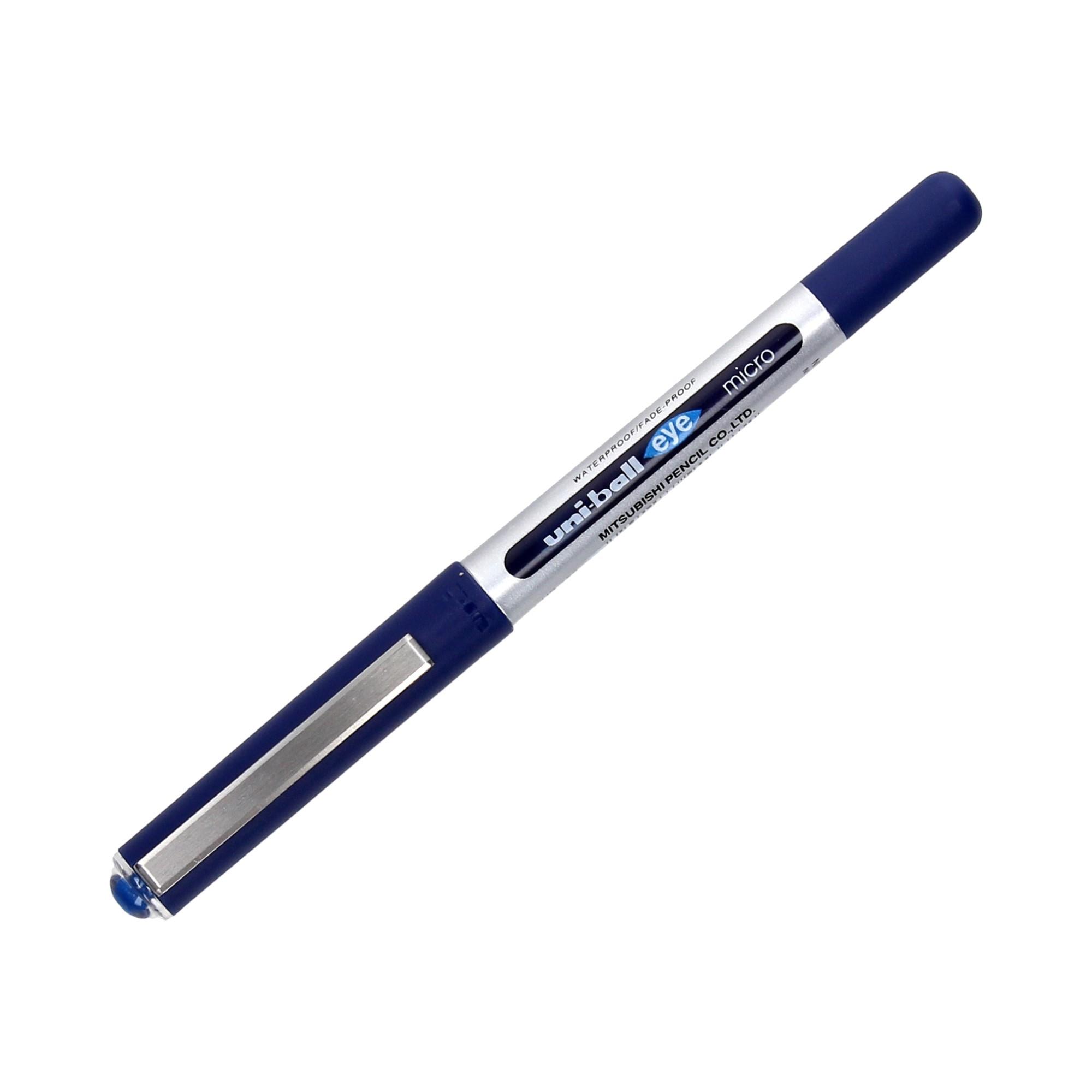 Pióro kulkowe 0.3-0.4mm niebieskie Uni UB150