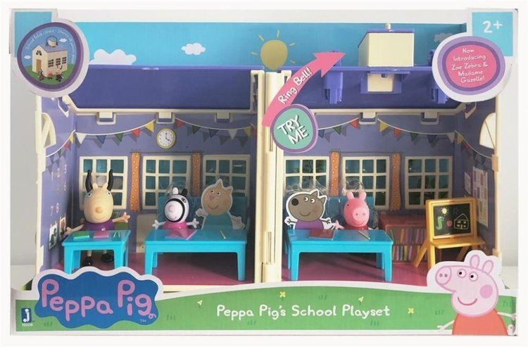 Peppa Pig - Zestaw duży szkoła - TM Toys