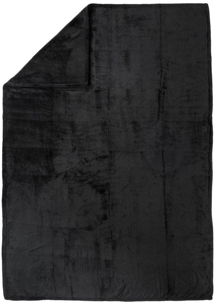 Pled Cocoon czarny 130 x 180 cm