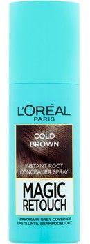 LOréal Paris Magic Retouch błyskawiczny retusz włosów w sprayu odcień Cold Brown 75 ml