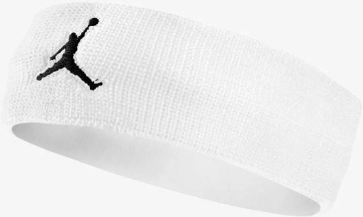 Opaska na głowę Air Jordan Jumpman Headband biała - JKN00-101