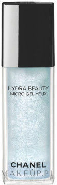 Chanel Hydra Beauty Micro Gel Yeux - intensywnie wygładzający żel nawilżający do pielęgnacji okolic oczu 15ml