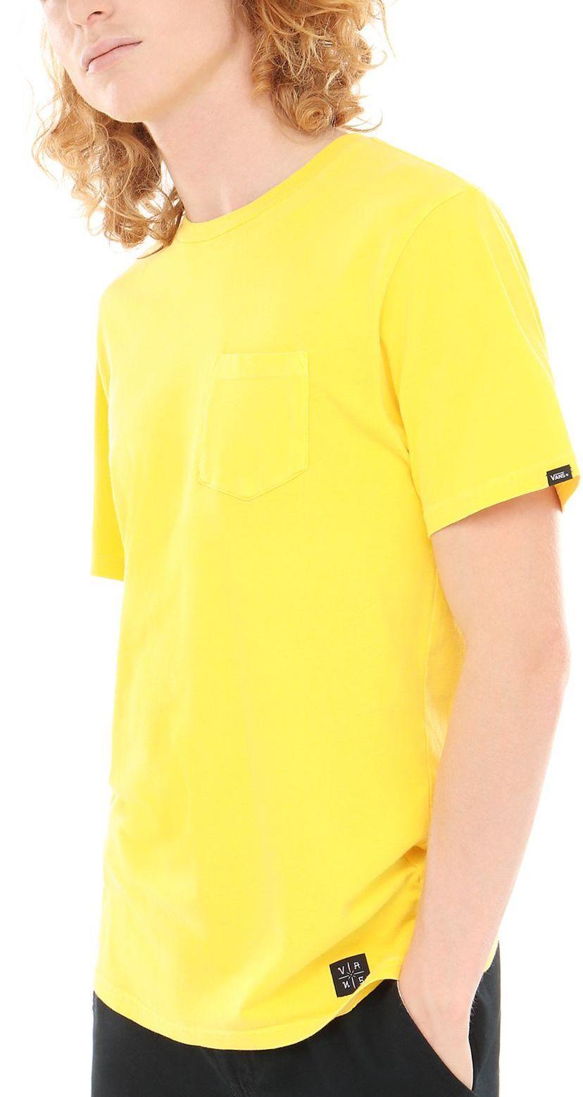 t-shirt męski VANS EB PICO BLVD POCKET TEE Aspen Gold