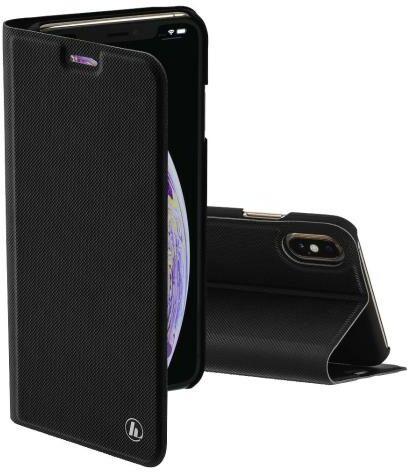 Hama Slim Pro Booklet Case iPhone Xs Max (czarny)