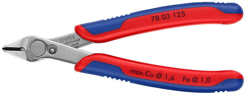 PRECYZYJNE SZCZYPCE 78 03 125 Electronic Super Knips  Knipex