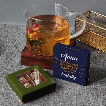 Niesamowite pomysły - Herbata kwitnąca