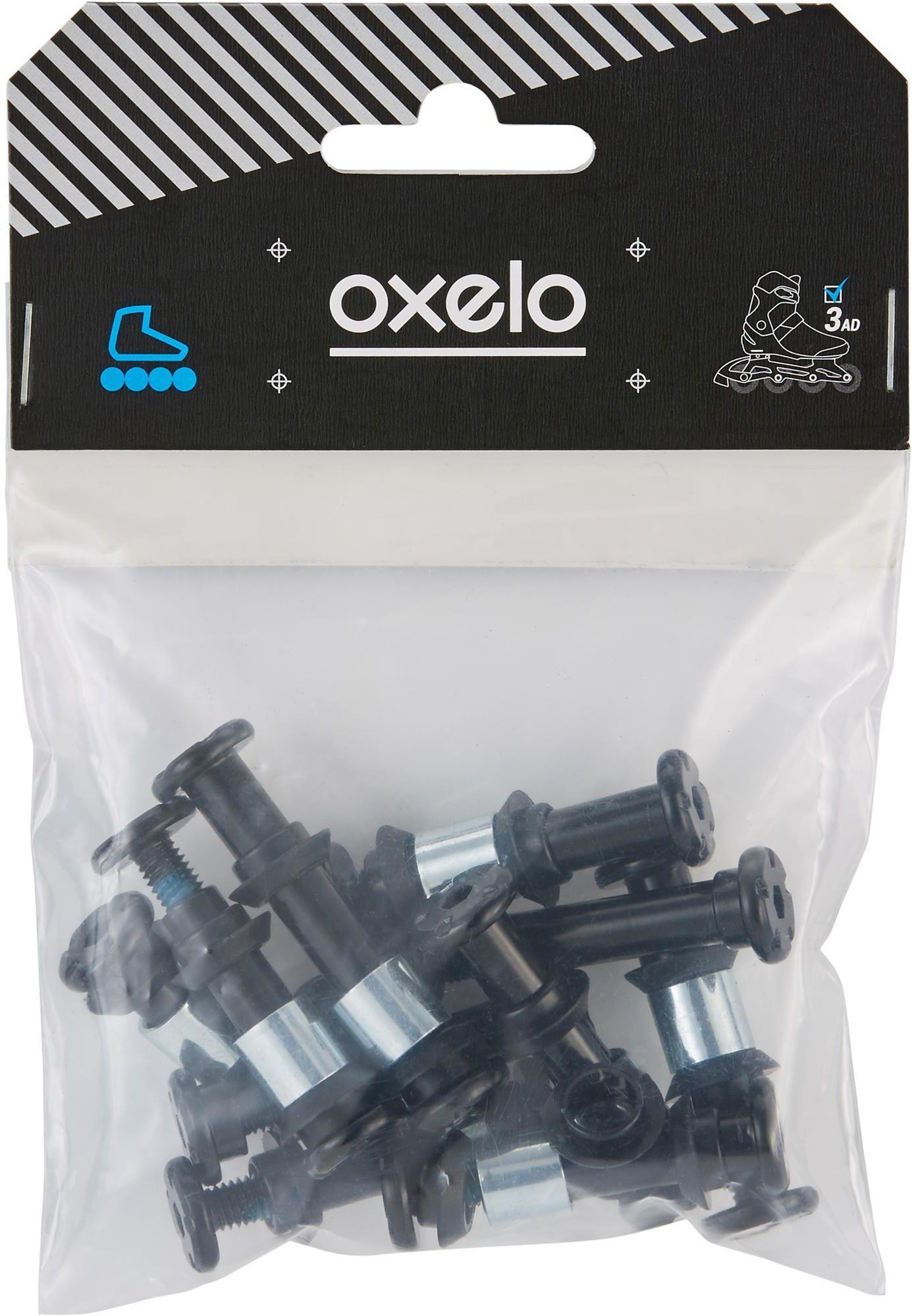 Zestaw 8+2 śruby, 8 podkładek, 16 outer-spacers do PLASTKOWEJ PŁOZY ŚRUBY 8mm