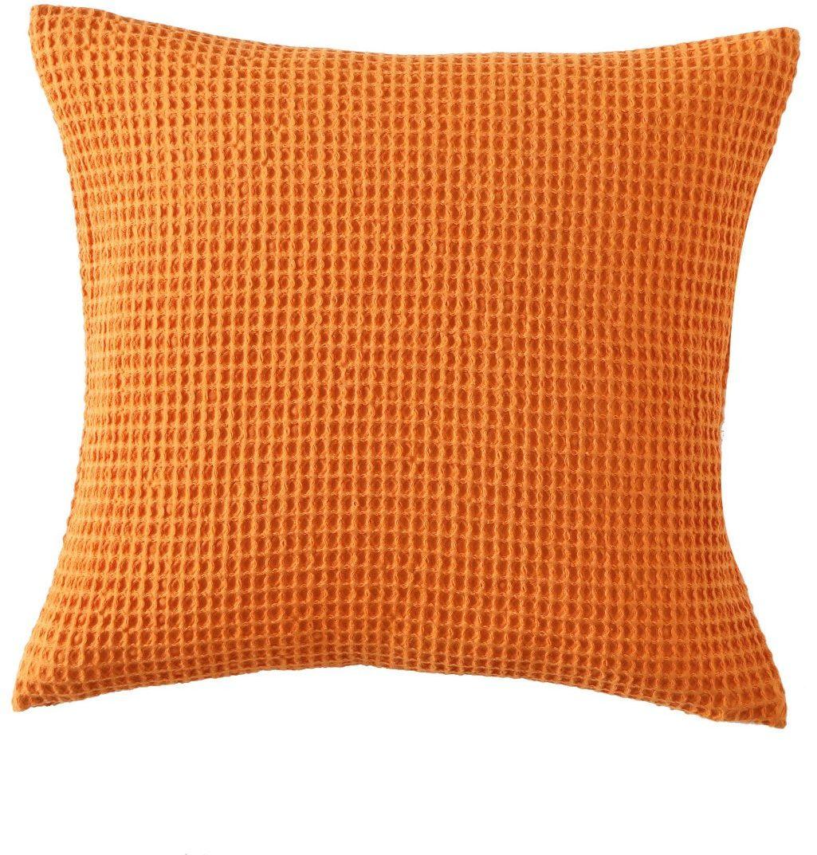 Poduszka dekoracyjna Blanc Des Vosges - Electre Pomarańczowa