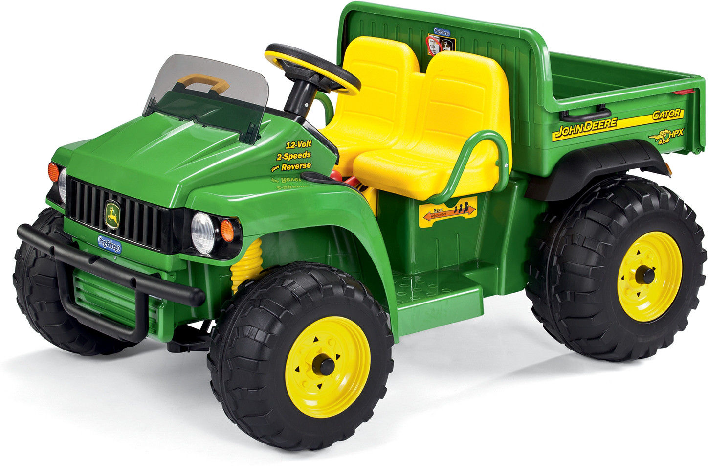 Peg Perego John Deere Dwuosobowy Samochód terenowy na akumulator 12V Gator HPX