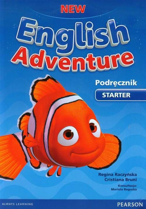 New English Adventure Starter Podręcznik z płytą DVD