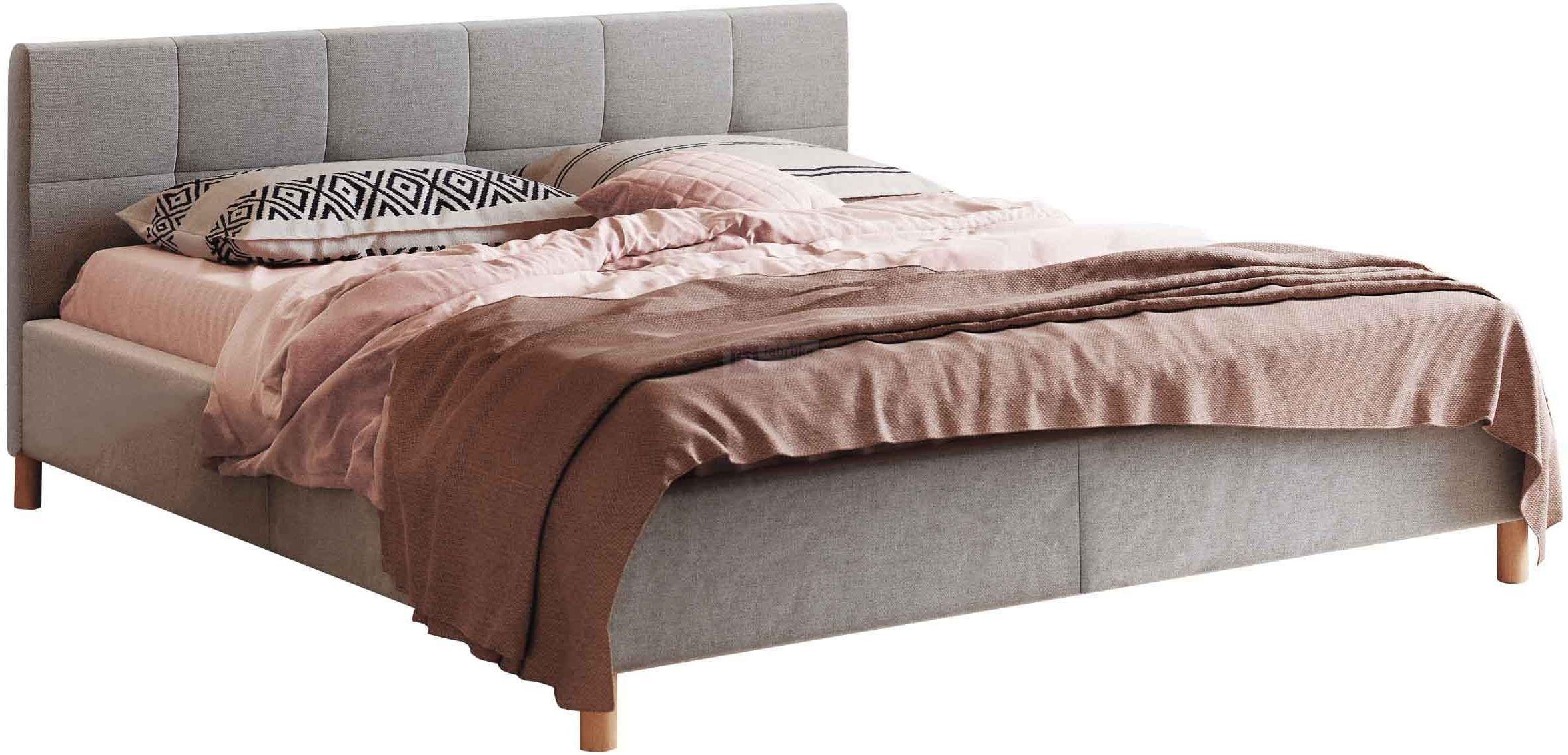 Łóżko tapicerowane Futura z pojemnikiem New Design