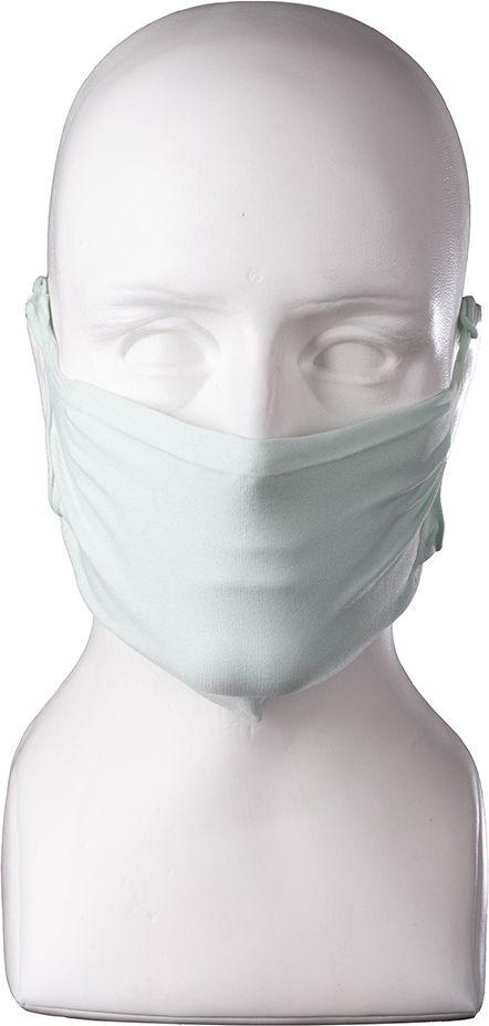 MASECZKI ochronne z JONAMI SREBRA - maski ochronne z mikrofibry - ZIELONE