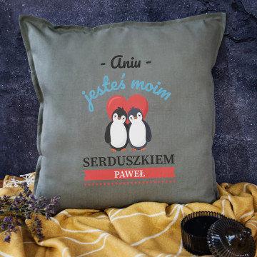 Moje serduszko - Poduszka dekoracyjna