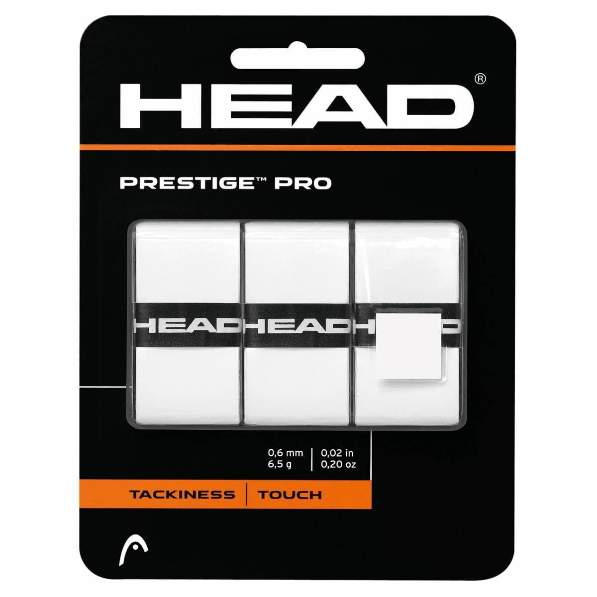 Head Prestige Pro (3 szt.) - white