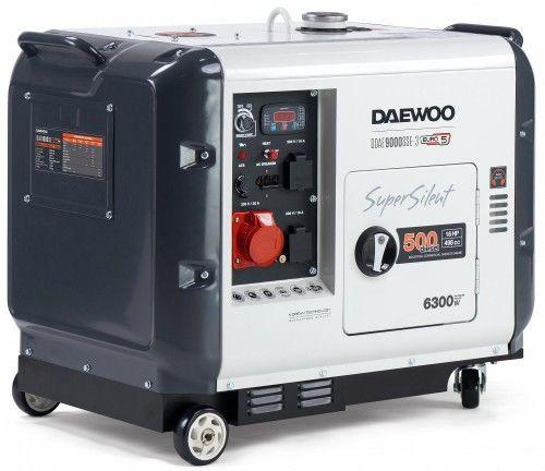 Agregat prądotwórczy DAEWOO DDAE 9000SSE-3 6,3kW diesel wyciszony
