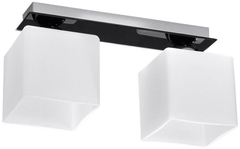 Sollux - plafon piazza 2 - czarny