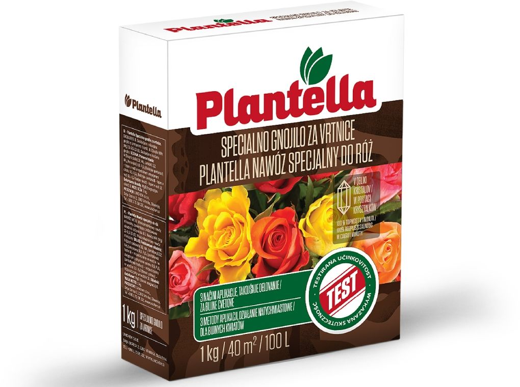 Nawóz do róż Plantella. Mineralny nawóz do róży 1kg.