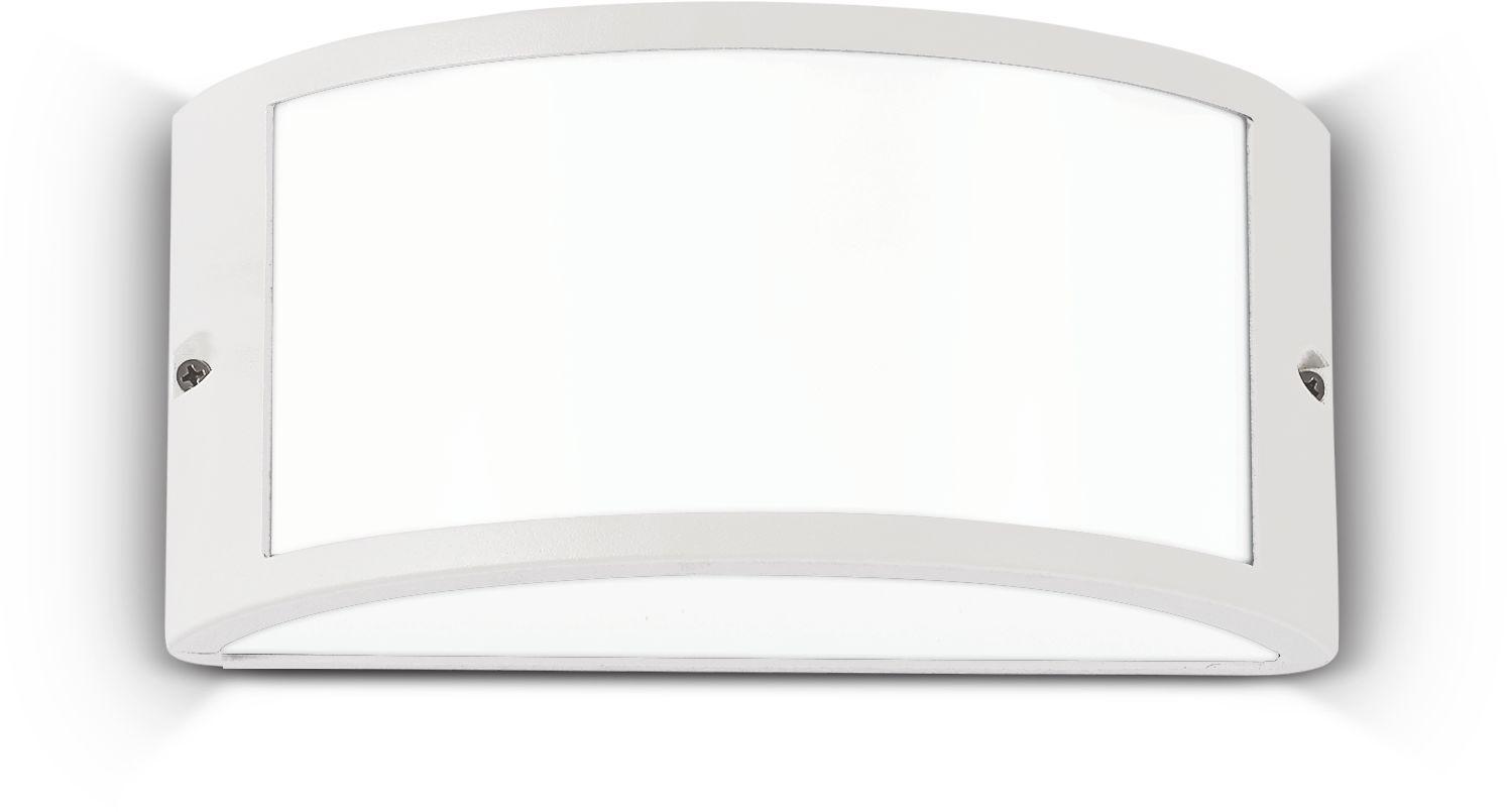 Kinkiet Rex-1 AP1 092393 Ideal Lux nowoczesna oprawa zewnętrzna w kolorze białym