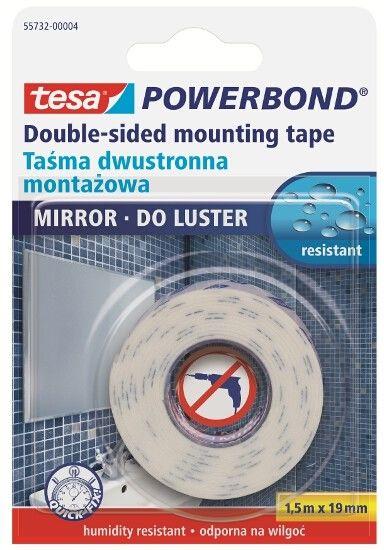 Taśma montażowa Tesa Powerbond 19mm/1,5m - dwustronna do luster