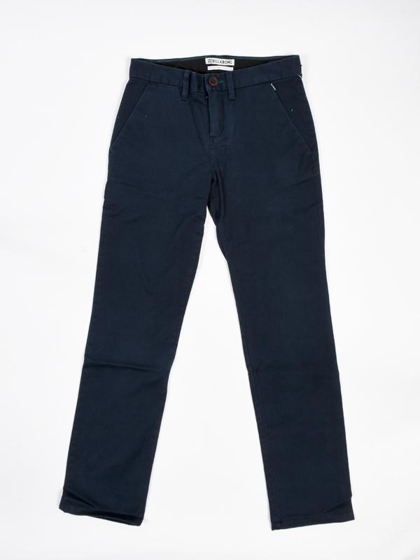 Billabong NEW ORDER CHINO NAVY spodnie lniane mężczyzn - 12