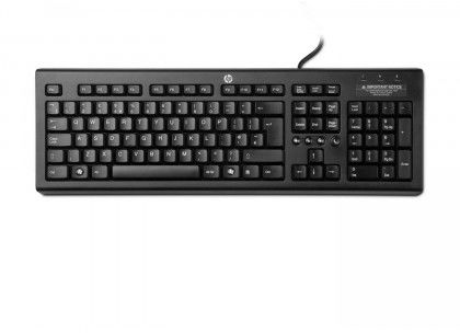 Klawiatura przewodowa HP Classic Wired Keyboard UK (WZ972AA#B13)