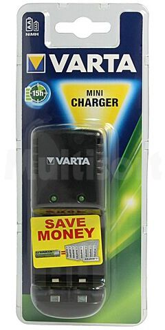 Ładowarka do akumulatorów Ni-MH Rozmiar: AA, AAA, R3, R6