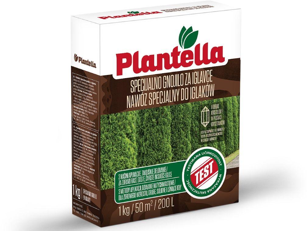 Nawóz do roślin iglastych Plantella. Nawóz do iglaków mineralny 1kg.