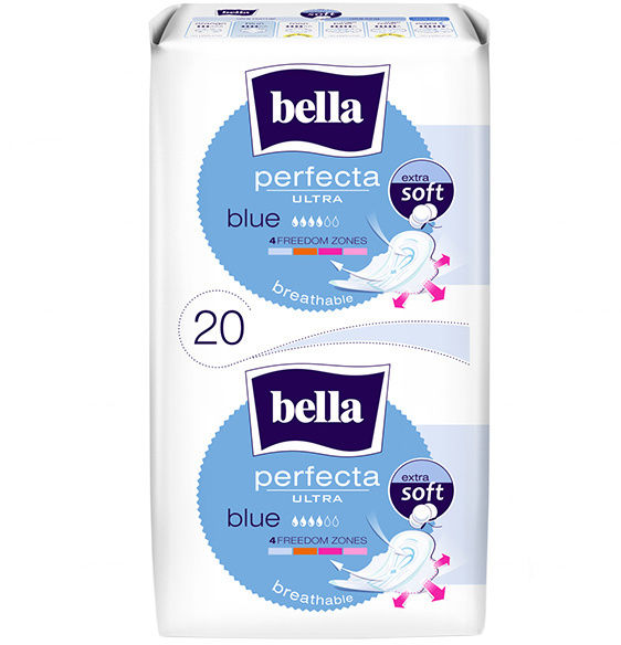 Bella Perfecta Ultra Blue Podpaski higieniczne 20