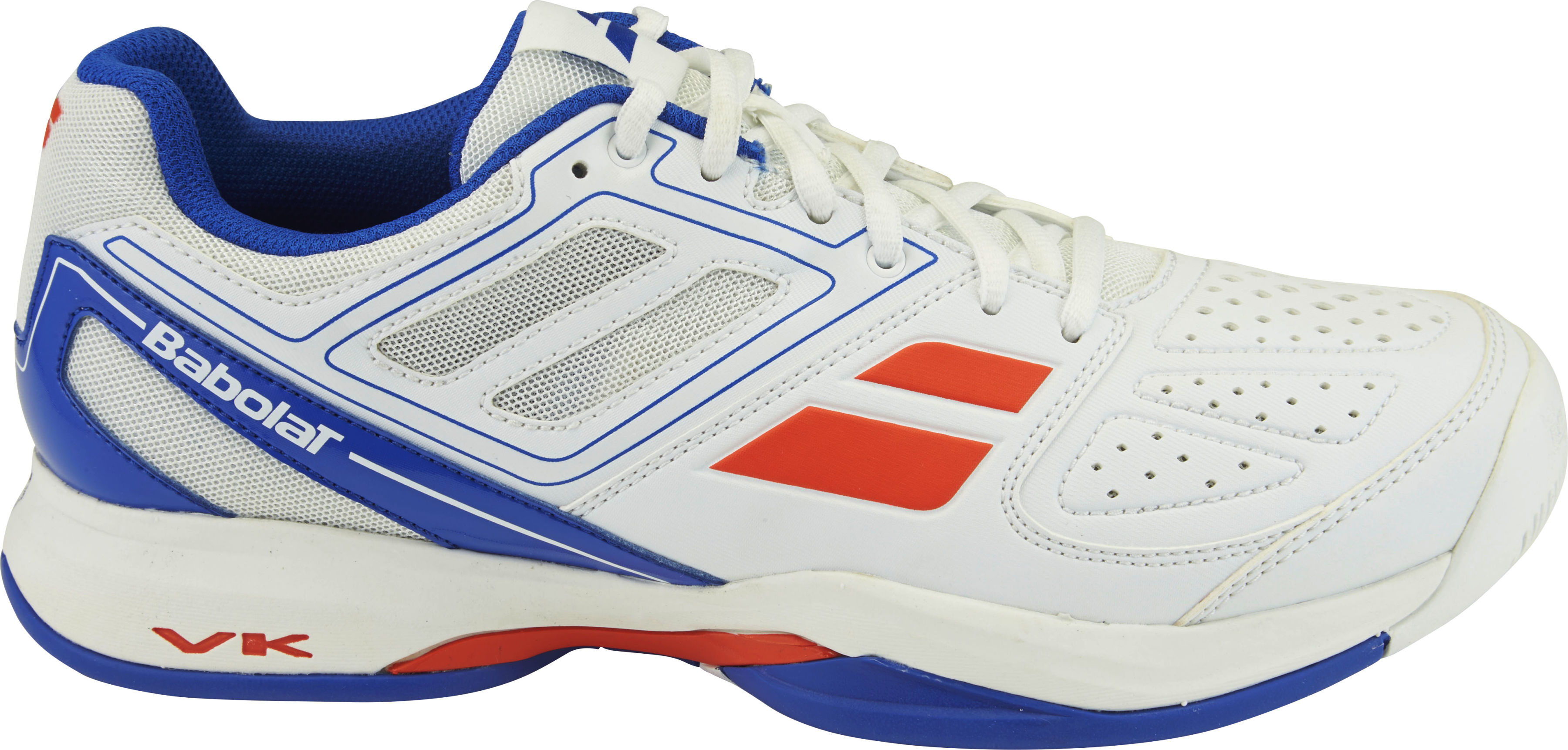 Babolat Pulsion All Court - white/blue