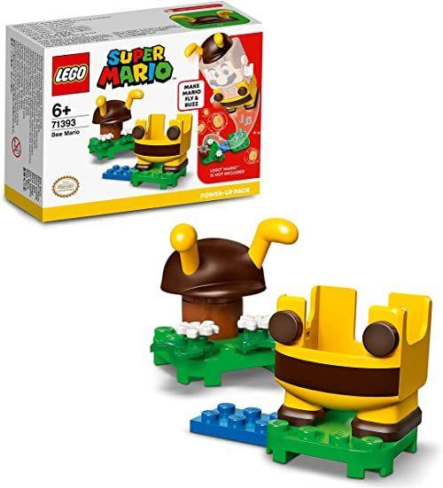 LEGO Super Mario 71393 Mario pszczoła  ulepszenie Kolekcjonerska zabawka na prezent dla kreatywnych dzieci (13 elementów)