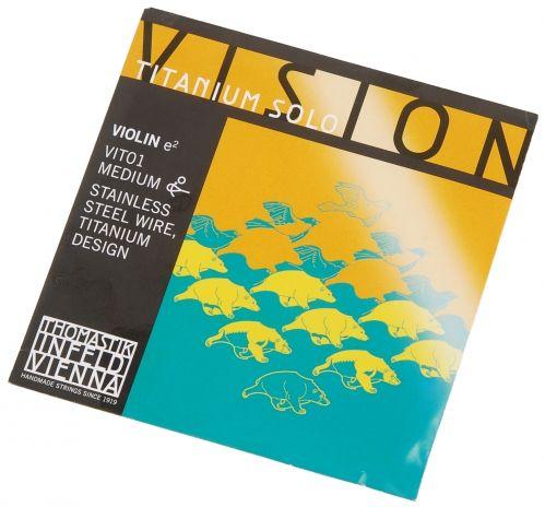 Thomastik (634194) Vision Titanium Solo E VIT01 struna skrzypcowa 4/4
