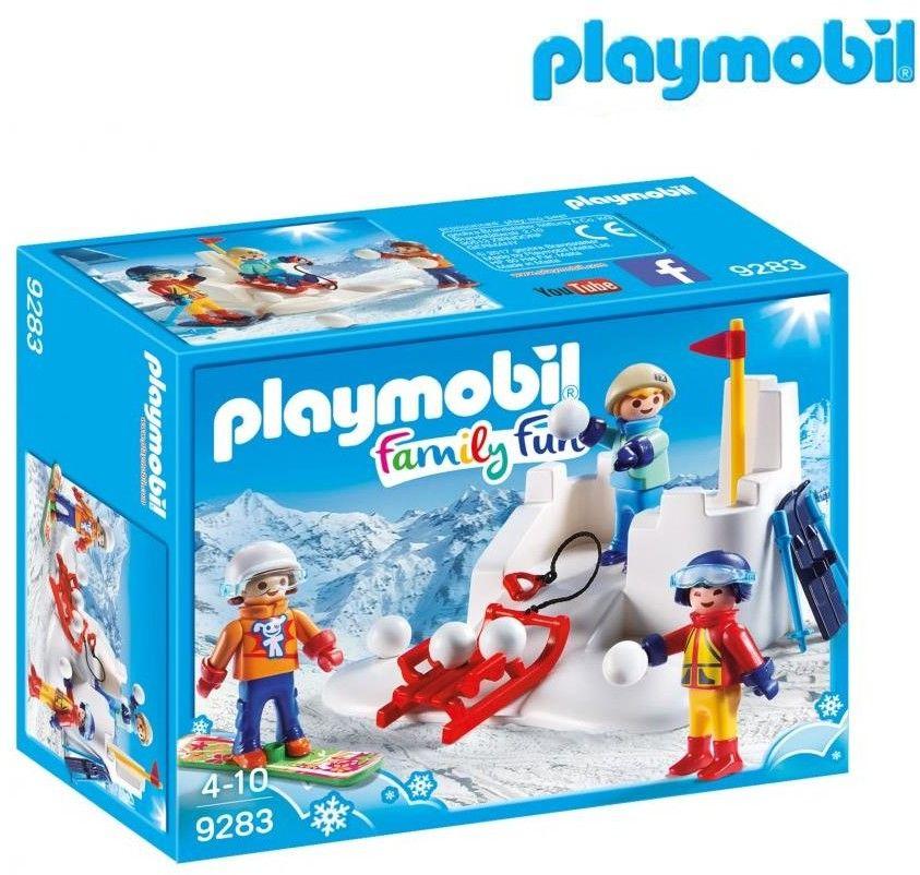 Playmobil - Bitwa na śnieżki 9283