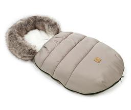 MAMO-TATO Zimowy śpiwór do wózka - Beż / ecru