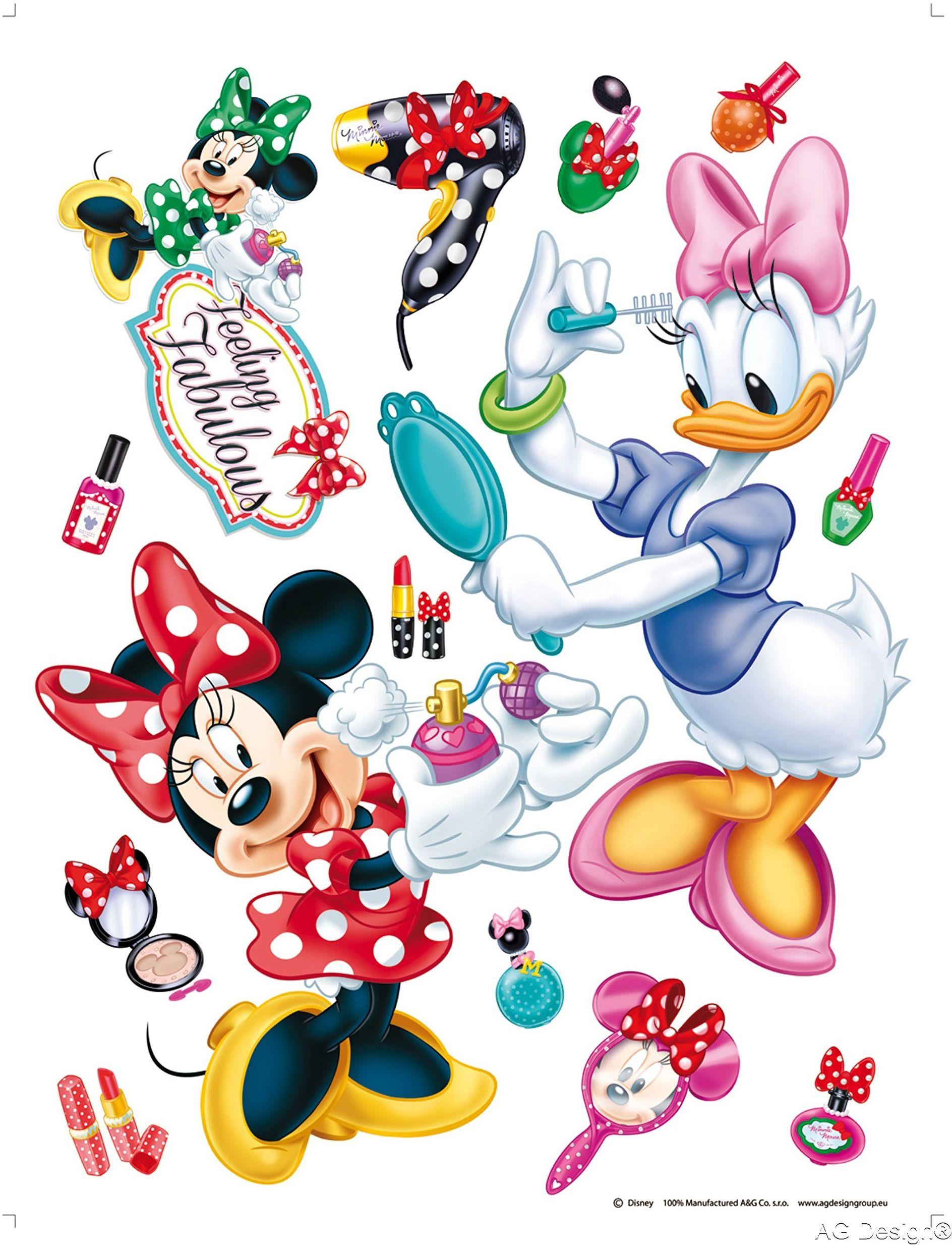 Naklejka ścienna DK 1767 Disney Minnie Mouse
