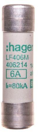 Bezpiecznik cylindryczny 14x51 aM 6A LF406M