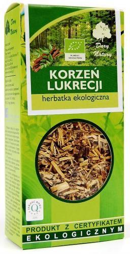 Herbatka KORZEŃ LUKRECJI BIO 50 g Dary Natury