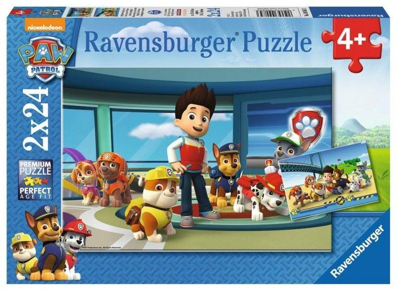 Puzzle 2x24 elementy - Psi Patrol, Pomocny węch (GXP-510372)