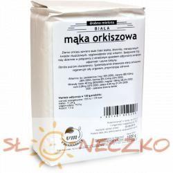 Mąka ORKISZOWA biała drobna 1kg NATURAL