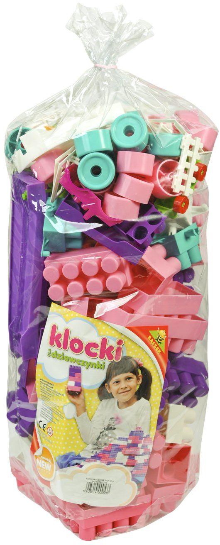 Tupiko TupikoZDD 140 sztuk Maxi Blocks duży zestaw D, wielokolorowe
