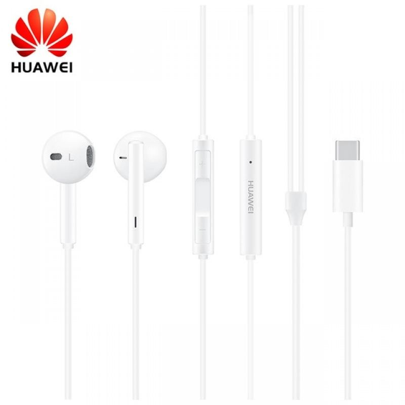 Słuchawki Huawei CM33 syereo USB-C białe