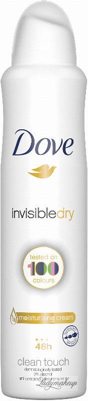 Dove - Invisibledry - Clean Touch - 48h Anti-Perspirant - Antyperspirant w aerozolu - 250 ml