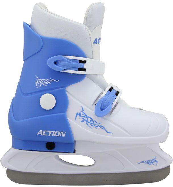 Hokejowe łyżwy rozsuwane młodzieżowe - rozmiar 33-36